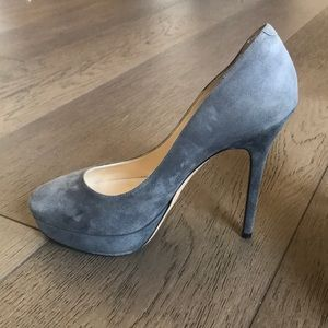 Grey Suede Jimmy Choo Pumps !